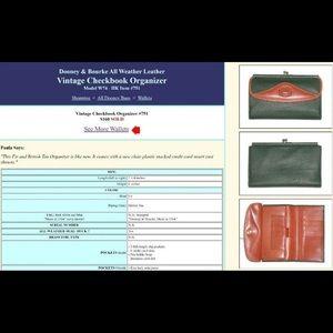 Dooney & Bourke Bags - Vintage Dooney Bag & Wallet Bundle Set